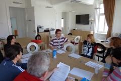 Grup pacienti MG NoRo 2015 _terapia psihologica de grup 2